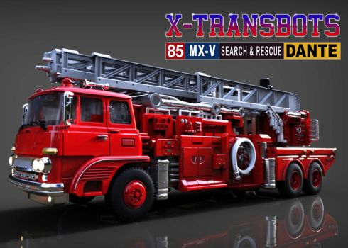 X-Transbots: Dante (alt mode) by 539Designs