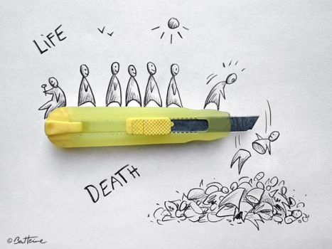 Life and Death by BenHeine