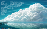 Cloudy Rainmeter by TheMelonLord1636