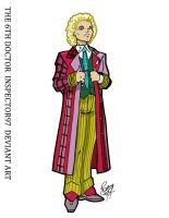Colin Baker: The Sixth Doctor by Inspector97