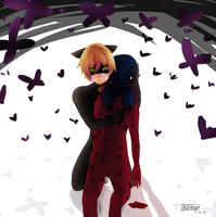 LadyNoir - Turn by Mikan-bases