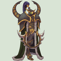 Maiev Idle Animation by AlexRedfish