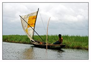 fisher from Benin by chirkhef