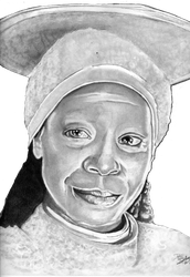Guinan (Whoopee Goldberg) by B-Richards
