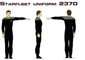 Starfleet uniform 2370 Engineering by bagera3005