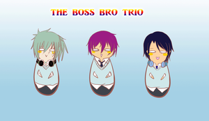 TH: Boss bro trio by Akari-Scifo