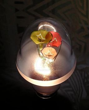 Kokka Hana Denkyu Light Bulb by emburke