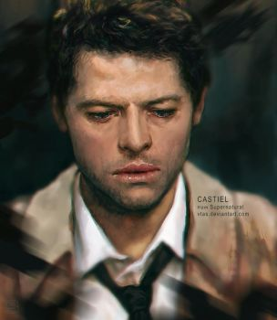 Castiel - Supernatural by vtas