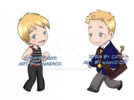 Commission: Justin Taylor by KamiDiox
