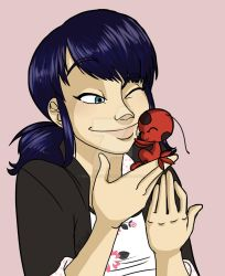 Miraculous-A Ladybug and her Kwami by HinataElyonToph