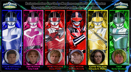 Vandersonmetal 49 0 Power Rangers Time Force By AndieMasterson