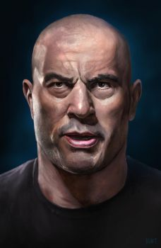 The Powerful Joe Rogan by WeaponMassCreation
