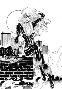 Black Cat Inks by CaioMarcus-ART
