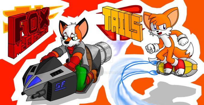 Foxes Of Gaming by MyRedYoshi