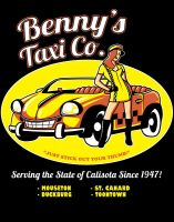 Benny's Taxi Co. by ninjaink