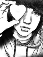 Drawing of Alex Evens by IntoxicatedPoison