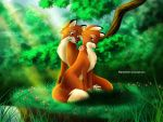 Tod and Vixey by Mareishon