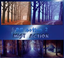 Mist Action by reven94