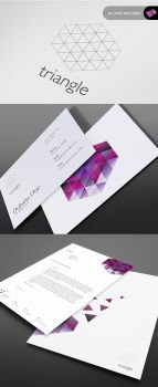 Triangle Series - Stationary by isoarts2