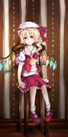 Flandre Scarlet by Oshiroification