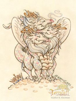 Smaugust 2017 #5 The Cuddle by HeatherHitchman
