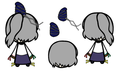 Futo Back Prop Set by Reimu-and-Cirno