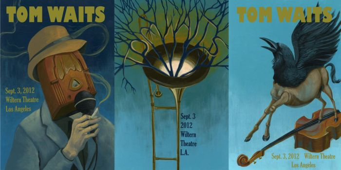 Tom Waits Posters by FitzyG
