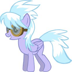 Cloudchaser is up to something. by Flutterflyraptor