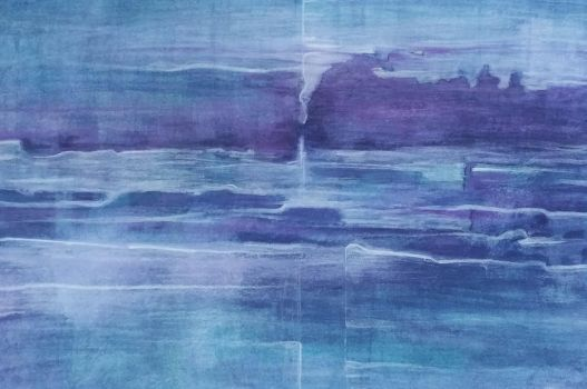 Untitled Aquarelle Painting 2017 - I by ollegudbrand