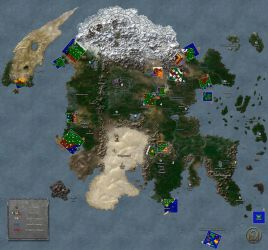 Continent of Enroth (Campaigns) by MarkonPhoenix