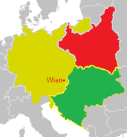 Map of Germany-Hungary by hosmich
