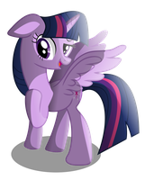 Twilight Sparkles, princess of equestria!! by MlpWreck12345