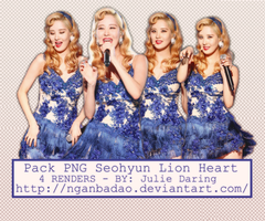 [Pack PNG #105] Seohyun Lion Heart live by nganbadao