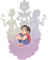 Steven and the Diamonds by Rabbicorn