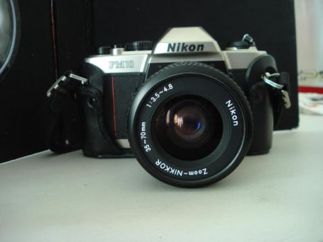 Nikon fm10 04 by Beloky-stock