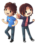 Game Grumps by Drawn-Mario