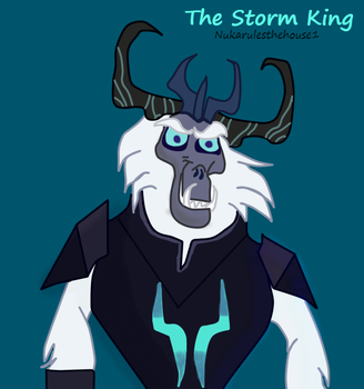 My Little Pony: The Movie - The Storm King Fanart by Nukarulesthehouse1