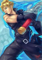 Cloud Strife by kaerulum