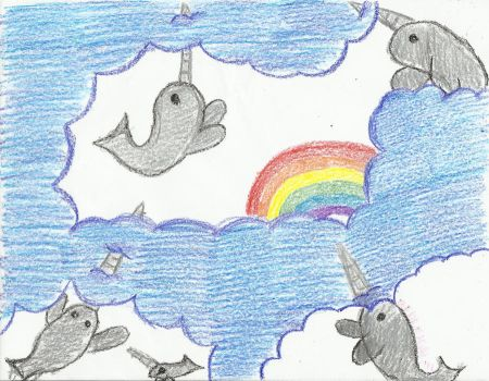 Narwhals are what give me hope by redthemusiclvr15
