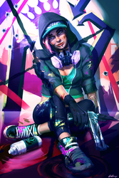 Dirty Business [ Fortnite fanart ] by ExCharny