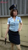 Jill Valentine RE3 Police Officer cosplay XII by Rejiclad