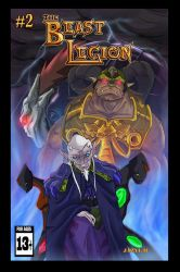 Beast Legion Issue 2 cover by JazylH