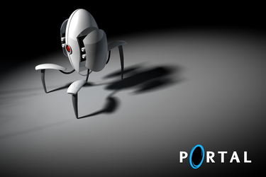 Portal Turret by mahalis