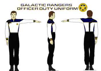 Galactic Rangers  Officer Duty Uniform by bagera3005