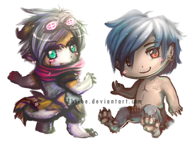 cheap chibis COM- Japandragon by Zhiibe