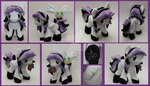 Custom handmade My Little Pony OC plush - Regent by SugarcubeCherry
