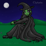 Elphaba of 'Wicked' by strawberry-jelly