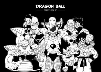 Dragon Ball FRIENDSHIP by albertocubatas