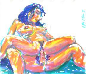 From the Erotic Sketchbooks `18 by Petre66