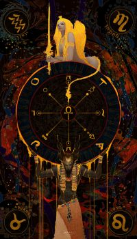 10-TAROT-The Wheel of Fortune by casimir0304